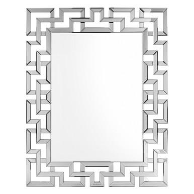 Santorini Mirror - Silver