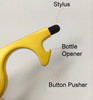 Touchless Door Opener and Button Pusher with Stylus