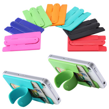 Silicone Cell Phone Wallet with CLIP