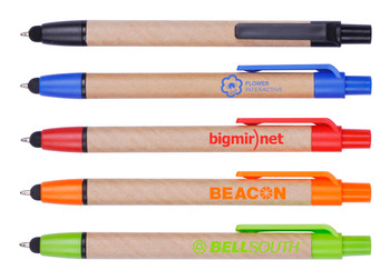 Eco-Friendly Pen W/ Stylus