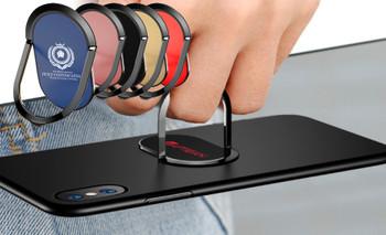 Super Slim Metal Cell Phone Ring Holder oval