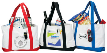 600D Tote bag w Contrast Handles