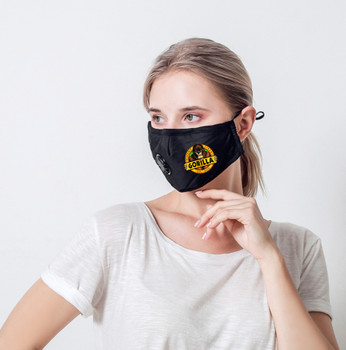 4-ply Cotton Face Mask with Breathing Valve
