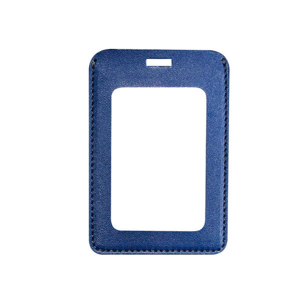PU Leather Badge Holder