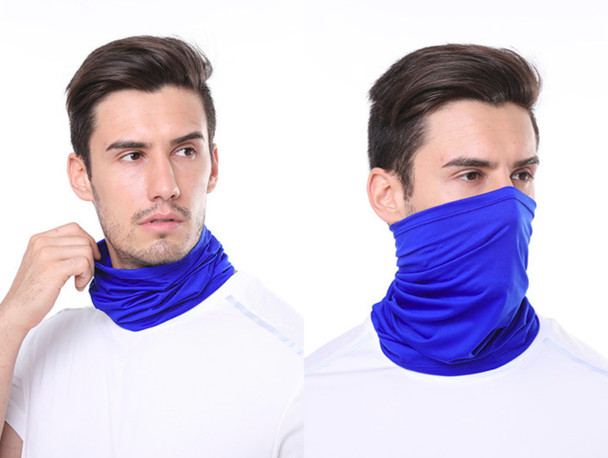 Neck Gaiter - Solid color WITH LOGO