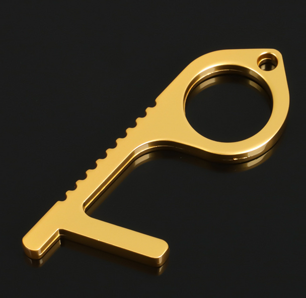 Touchless Door Opener. Button Pusher. Bottle opener keychain