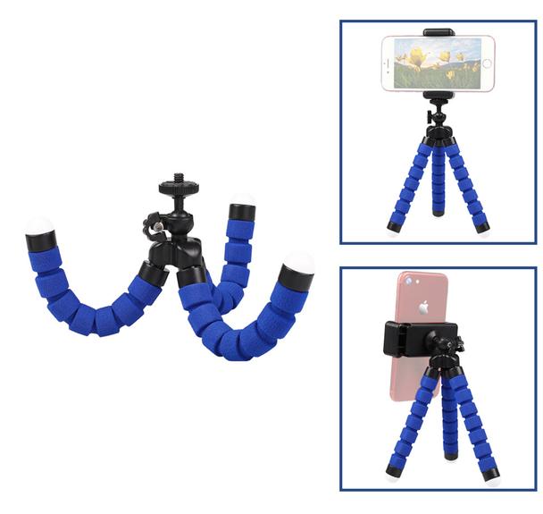 Bendable Desktop Zoom Light Tripod Stand (Small)