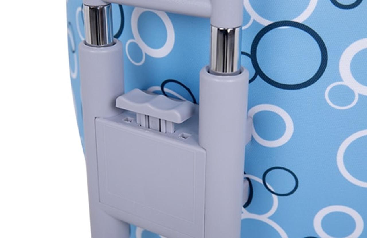 EFurnit Kids Adjustable Chair , Ergonomic Task Chair for Kids- Full-Backrest Series , blue
