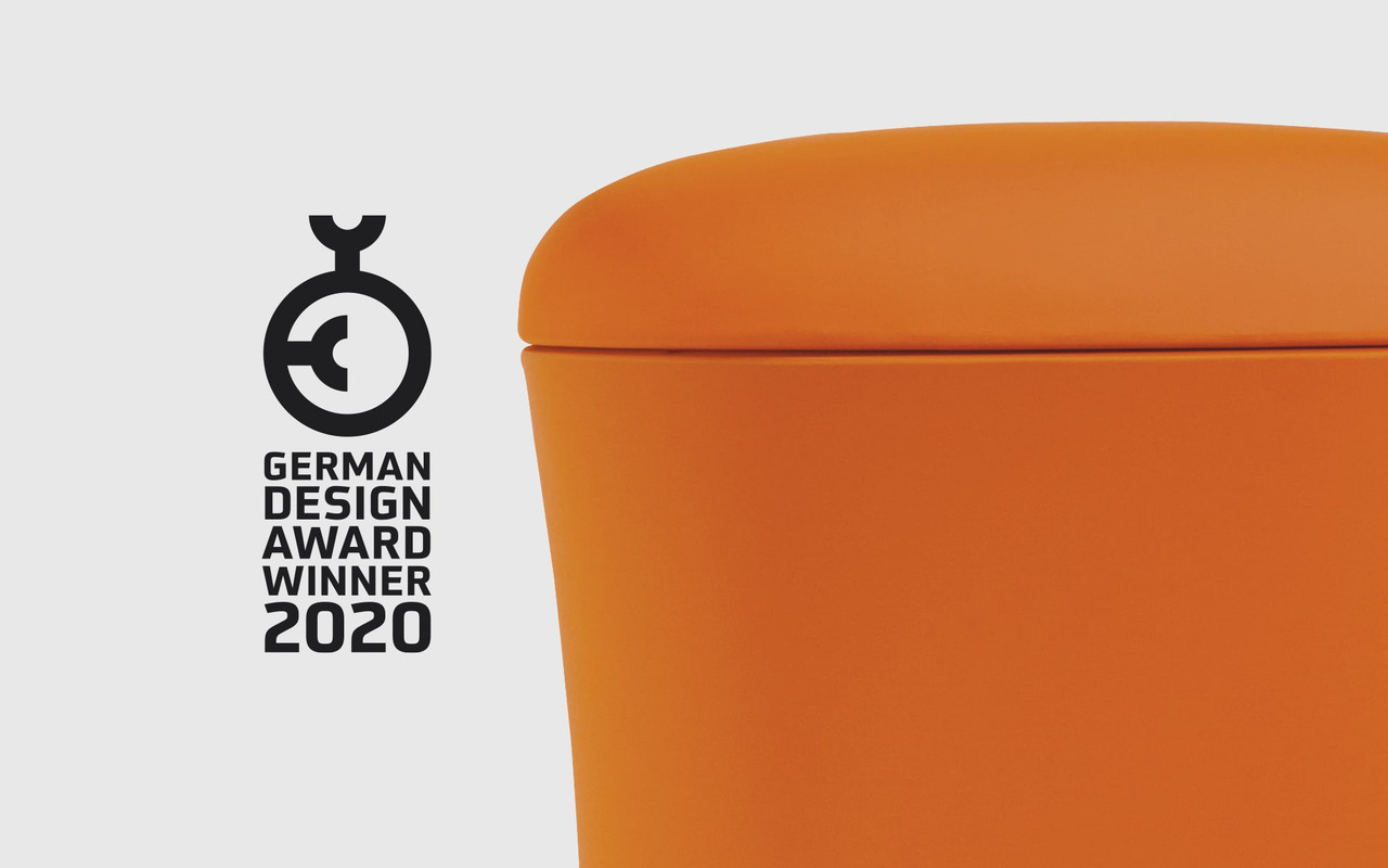 EFurnit Height Adjustable Stool - german Design Award Winner - Ergonomic, Rotating, Active Sit Standing Stool