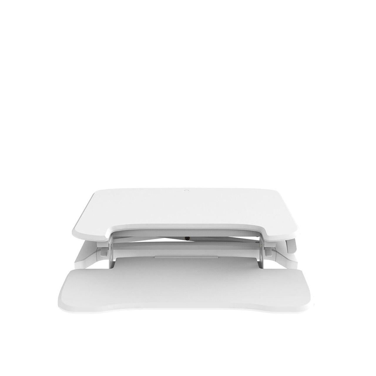 EFurnit Standing Desk Riser/Converter - Convert your Desk to a Height Adjustable Sit Stand Workstation- Series 151-White