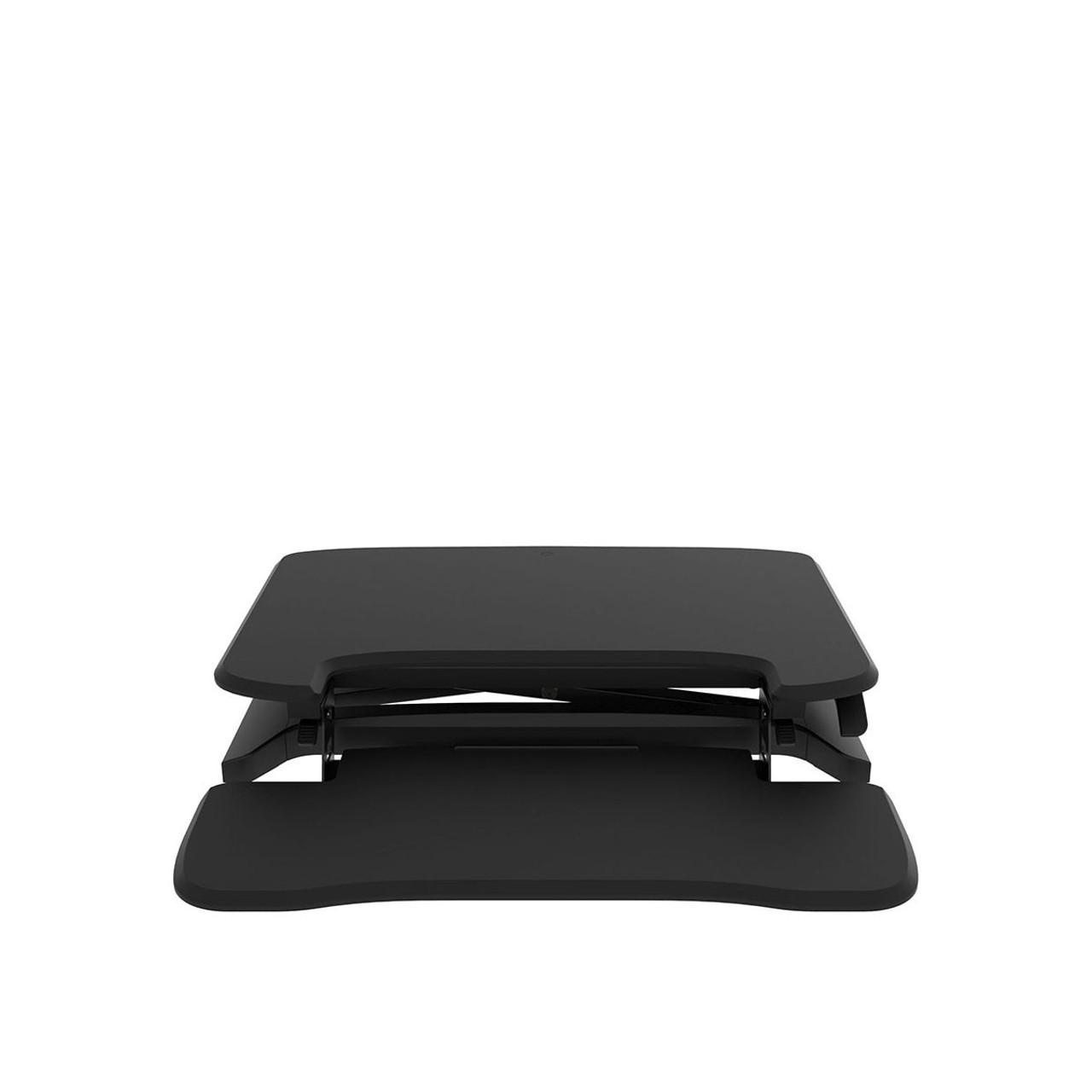 EFurnit Standing Desk Riser/Converter - Convert your Desk to a Height Adjustable Sit Stand Workstation- Series 151-Black