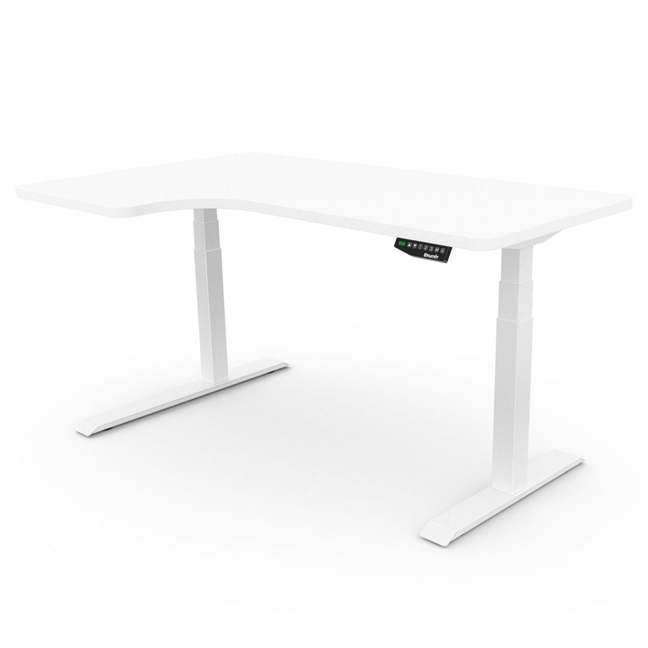 EFurnit Alpine Corner Standing Desk , Dual motor