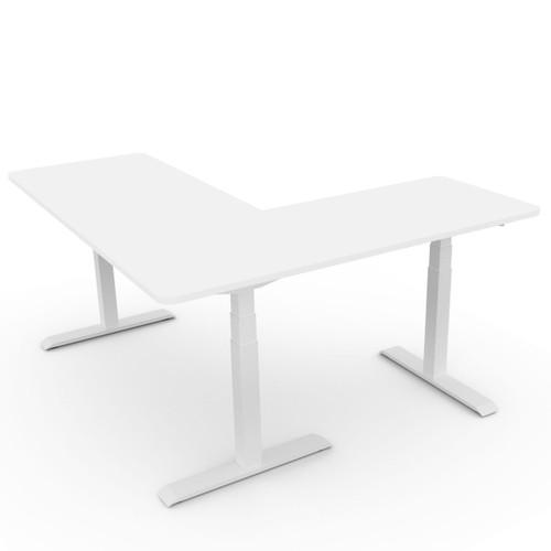 EFurnit Alpine Standing Corner Desk