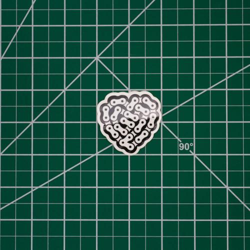 Chain Heart 2in