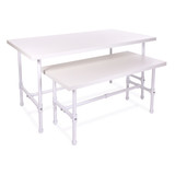 Pipeline Tables | Gloss White