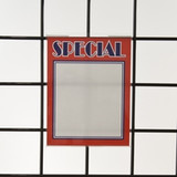Grid Wall Sign  Holders