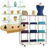 Display and Storage Shelves