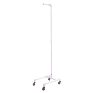 Pipe 4-Leg Costumer Stand | Gloss White