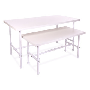 Pipeline Nesting Table Set | Small - Large | WHITE