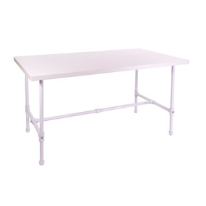 Small Pipeline Nesting Table  - White