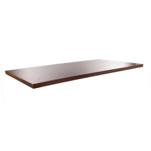Table Top ONLY For Large Pipe Nesting Table Frame | Dark Brown