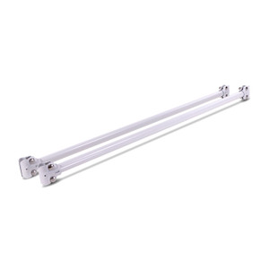 "48"" Extension Bars For Pipeline Free Standing Display 