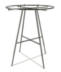 "Round Clothing Rack with 42"" (dim) Round Hangrail 
