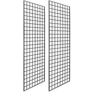2' X 6' Gridwall Panels | Black