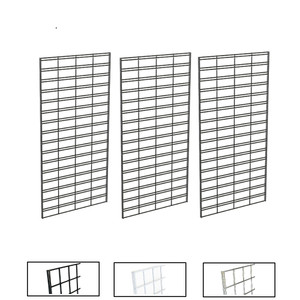 2' X 4' Slatgrid Panels | Black, White or Chrome