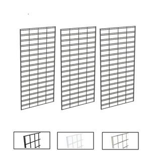 2' X 4' Slatgrid Panels | Black, White or Chrome
