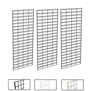 2' X 5' Slatgrid Panels | Black, White or Chrome