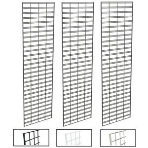 2' X 7' Slatgrid Panels | Black, White or Chrome