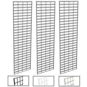 2' X 8' Slatgrid Panels | Black, White or Chrome