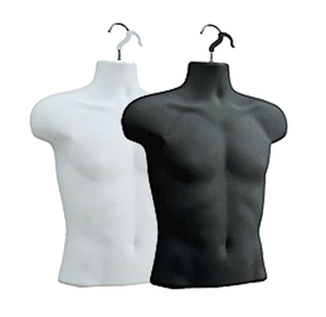 Male Upper Torso Hanging Form | Black or White
