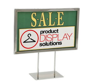 Countertop Sign Holder Product Display Solutions