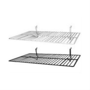 "Slatwall Flat Shelf 14"" x 6"" 