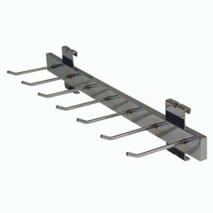 Gridwall Belt or Tie Display With 4 in Hooks