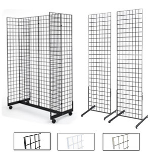 Gridwall Gondola Display & 2 Sided Free Standing Display