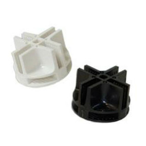 Plastic Connectors For Mini Grid Panels | Black or White 0
