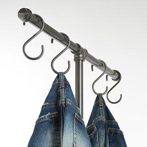 """""""S"""" Hooks for Pipeline Clothing Racks 0"""