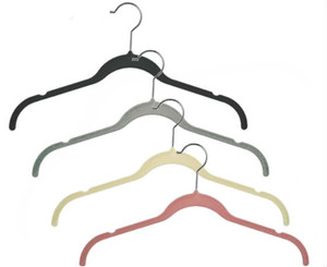 "17"" Slimline Velvet Dress & Shirt Hanger with Notches"
