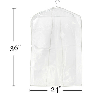 "36"" Clear Overlap Cover 