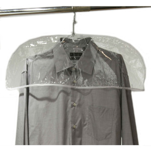 "Man's Clear Shoulder Cover | 24""W x 9""H"