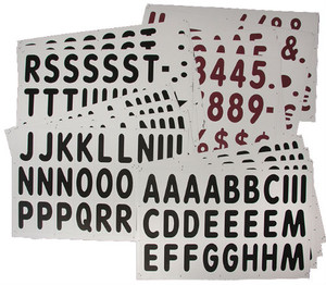 "421 - 5"" Letters & Numbers Set for XL Massage Board Sign"