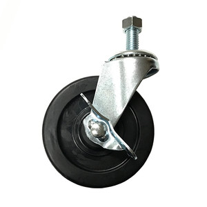 COLLAPSIBLE SALESMAN RACK REPLACEMENT WHEELS  WITH BRAKES