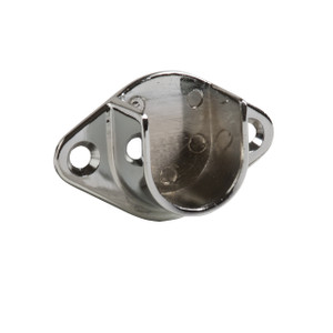 "Open Flange For 1"" Round Tubing  Hangrail Wall-mount Bracket"