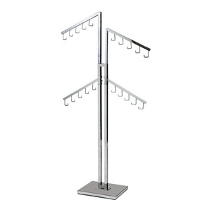 Two-Sided Purse Rack For Retail Stores