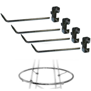 "Add-a-Ring Hardware for 36"" & 42"" Round Clothes Racks"