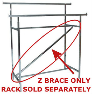 Z Brace for Double Rail Rack  Adds Additional Support