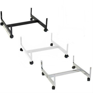 Slatgrid Gondola Base w/Casters  24 x 24  Black, White or Chrome